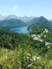 Alpsee vom Berg aus