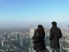 Aussichtsplattform auf dem Frankfurter Main Tower