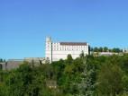 Die Willibaldsburg von Eichstätt aus gesehen